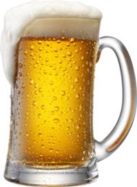 Ein kühles Bier gehört zum Catering dazu.